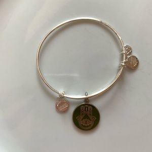 Alex and Ani Hamsa charm bangle!!